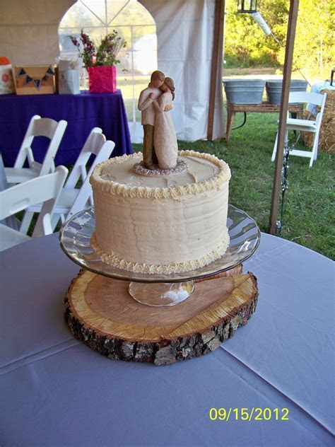 Simple Willow Tree Wedding Cake   My Cakes   Willow tree