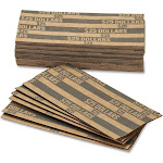 PAP-R Flat Coin Wrappers - Total $25 in 25 Coins of $1 Denomination -
