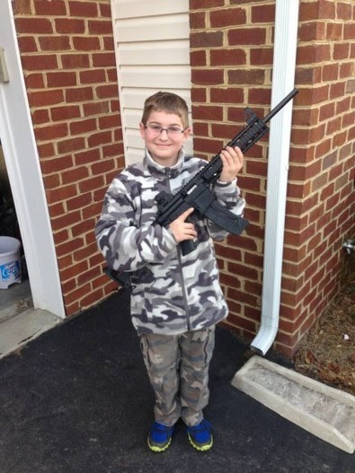 Update-Dad: This Picture of My Son Holding a Gun Triggered a Visit from NJ Police, Family Services | Littlebytesnews Current Events | Scoop.it