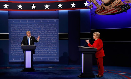 Clinton repeatedly puts Trump on defense in First Presidential Debate - Updates Junction