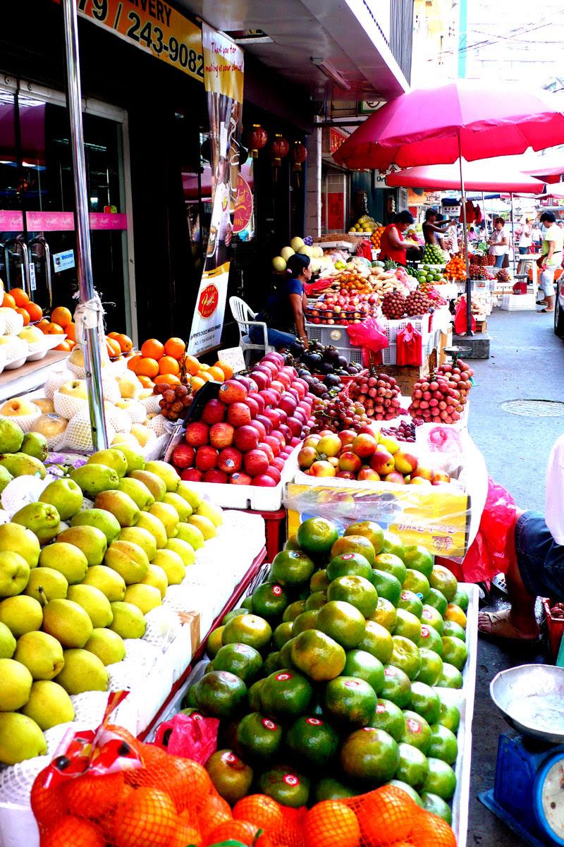fruit vendors, binondo, manila