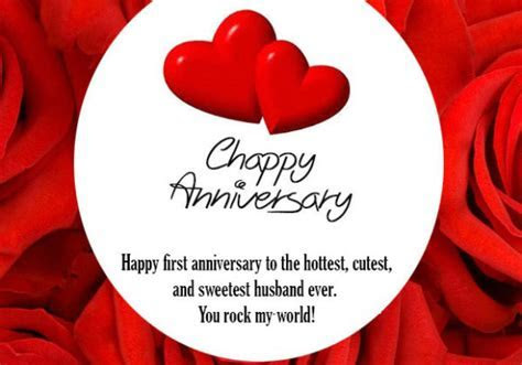 1st Anniversary Wishes for Husband: First Anniversary