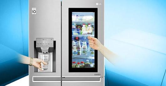 Amerikanischer Kühlschrank Von Lg : Der side by side kühlschrank von lg bietet neben der