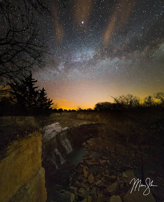 Cowley Falls Milky Way