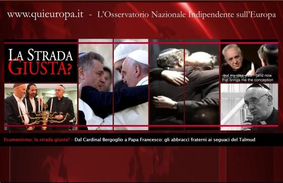 Papa Francesco - Skorka - Ecumenismo