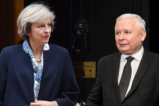 Znalezione obrazy dla zapytania kaczyński w londynie memy