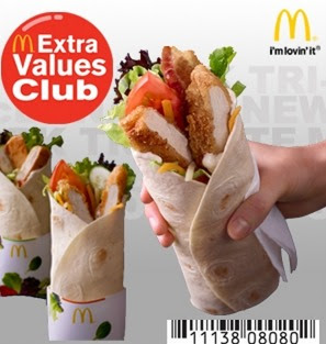 McDonalds: FREE Premium McWrap with Purchase Coupon (Select Locations) $3.99 Value!