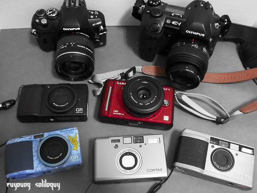 我的相機們 (by euyoung)