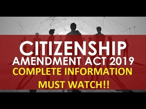 Citizenship Amendment Act - Myths versus Facts
