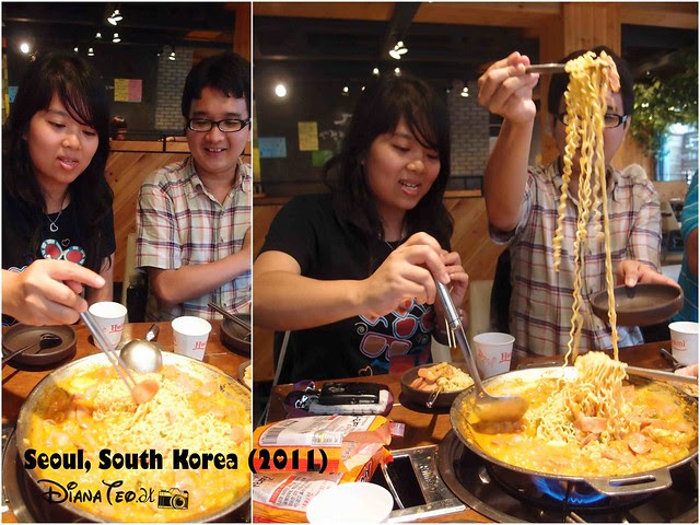 Last Day in South Korea 08 - Cooking Budae Jjigae