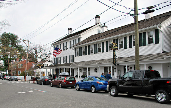 Front of the Griswold Inn in Essex