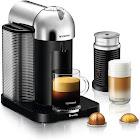 Breville Nespresso Vertuo Espresso Maker/Coffeemaker - Chrome