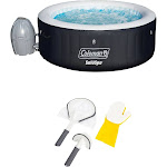 Coleman SaluSpa Inflatable Hot Tub + Bestway Cleaning Tool Set