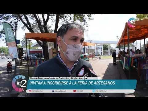 Invitan a Inscribirse a la Feria de Artesanos de VGG