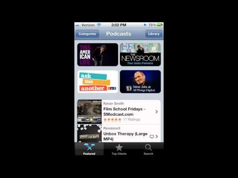 Apple Releases New Podcasts App