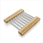 Prosumer's Choice Bamboo Expandable Hot Pad Trivet for Kitchen or Dining Table
