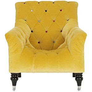 FABULOUS!!! #yellow #color #chair #furniture