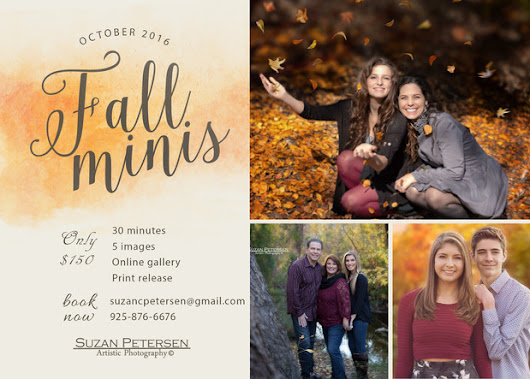 Fall Family Sessions Now Booking | San Francisco Bay Area Photographer
