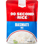 Basmati Rice Microwaveable Pouch 8.5oz - Market Pantry