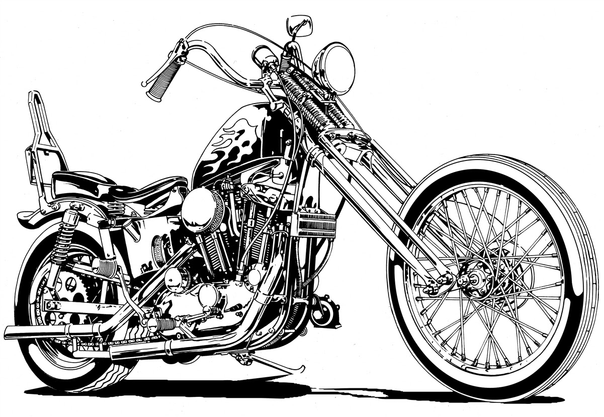 Choppers clipart - C