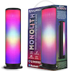 Aduro LED Bluetooth Speaker with Pulsating Lights, Wireless Color Cha