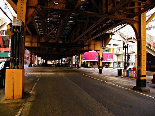 Under the tracks ; Chicago 1.17.2010