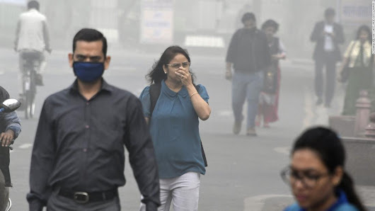 Breathing in Delhi air equivalent to smoking 44 cigarettes a day - CNN