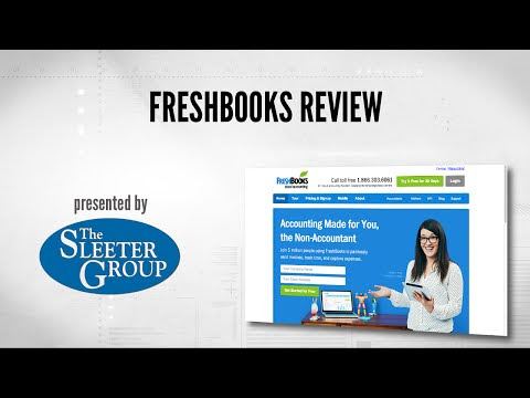 FreshBooks Accounting Software Video Review - QuickBooks and Beyond