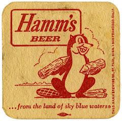 Hamm's_Beer_beaver_tatteredandlost