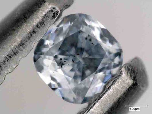 What makes diamonds blue? | Geology Page