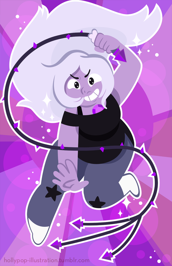 Pearl, Amethyst and Lapis Lazuli