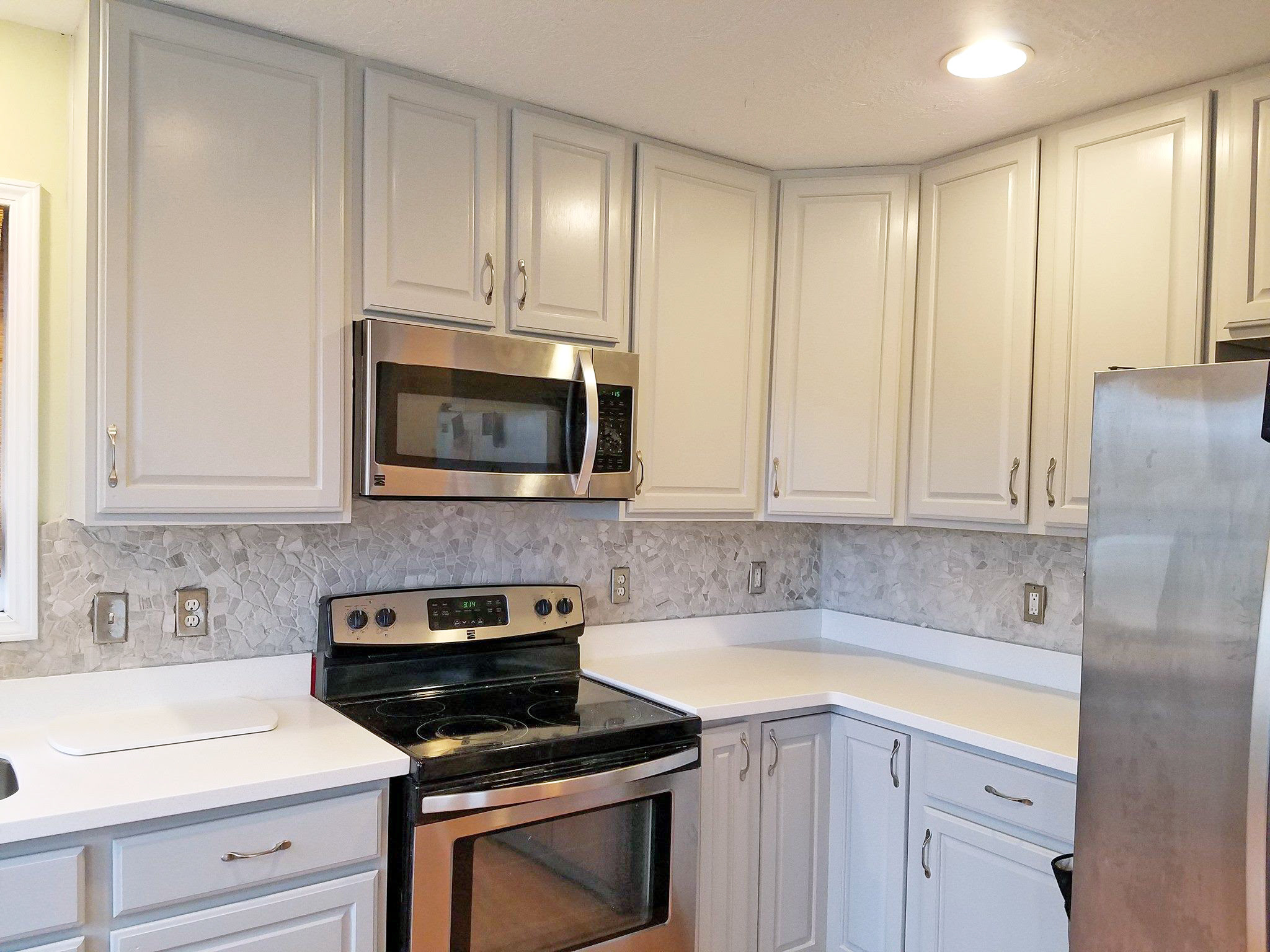 Seagull Gray Kitchen Cabinet Makeover | General Finishes ...