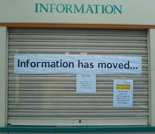 Information has moved...