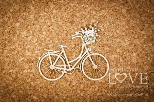 Tekturka - Rower retro - Sweet Lavender