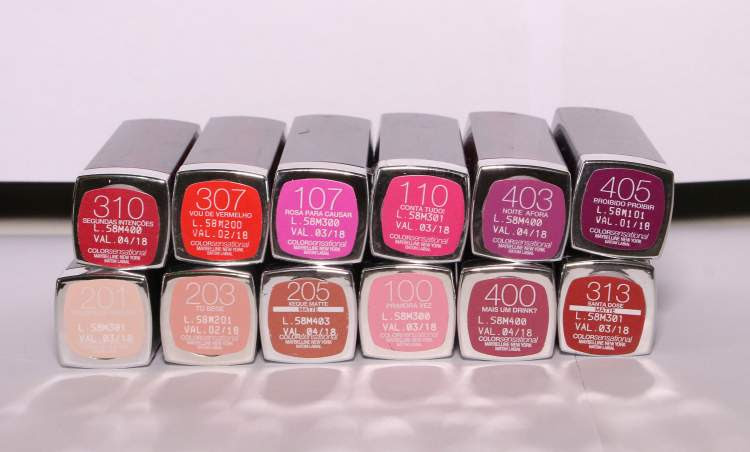 Batom Color Sensational da Maybelline