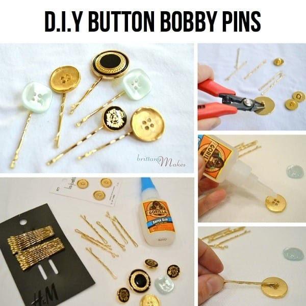 diy Hijab bobby pins tutorials