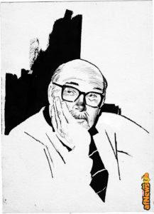 Enzo Regazzini alla mostra dedicata a Didi Coppola