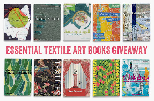 Sue Stone's essential books on textiles