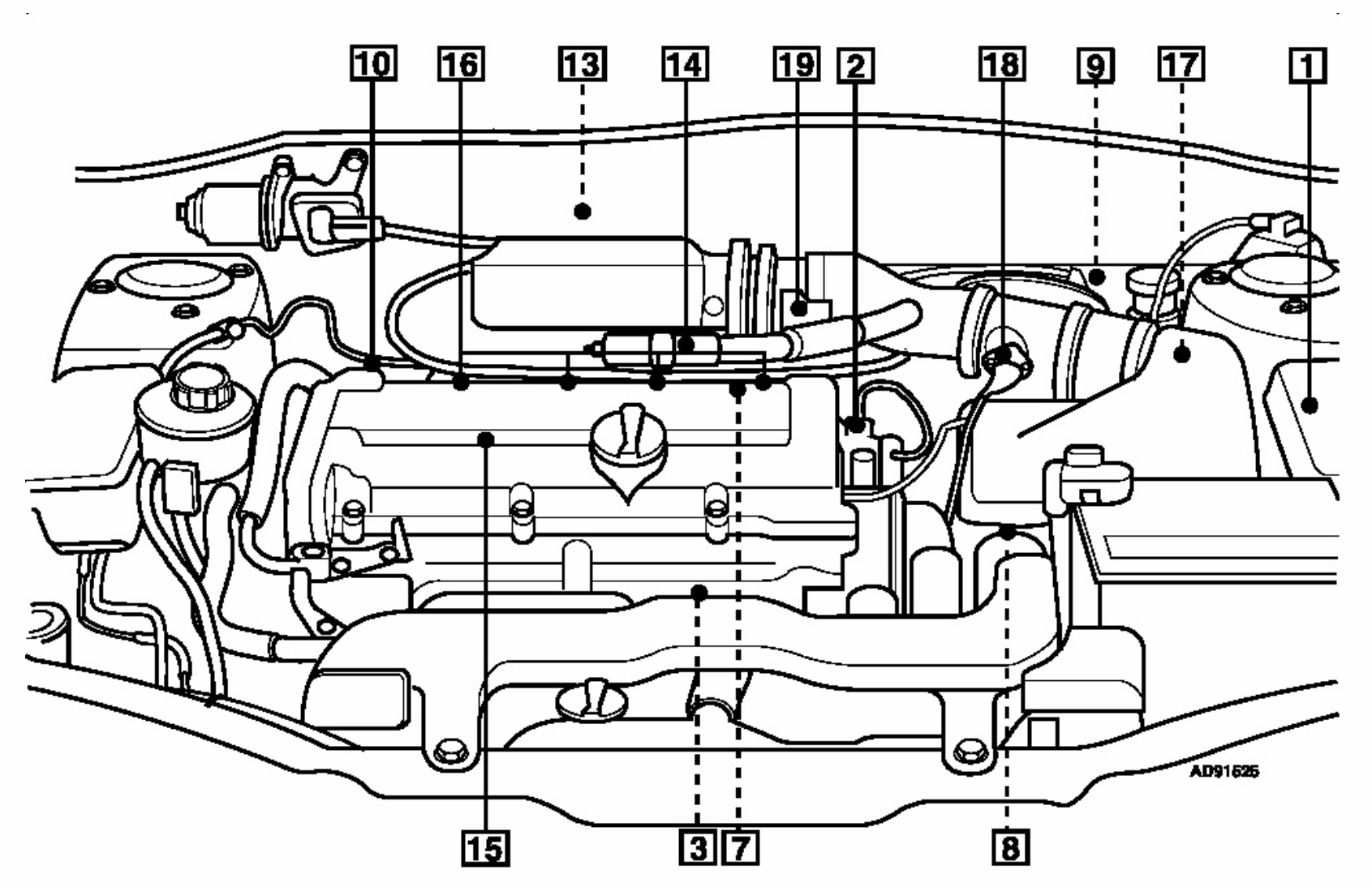 hyundai accent crankshaft position sensor location