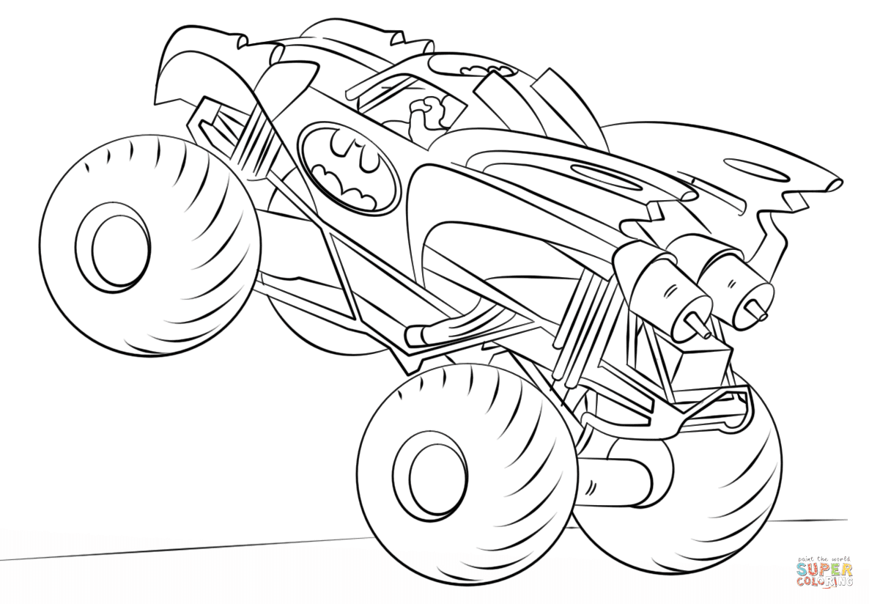 Klick das Bild Batman Monster Truck