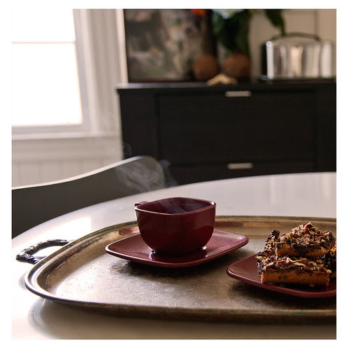Coffee Break: Pecan Toffee Bars