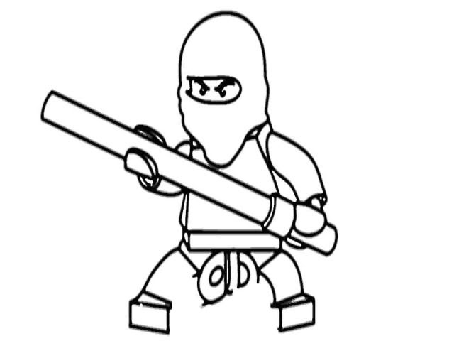 ausmalbilder ninjago geister