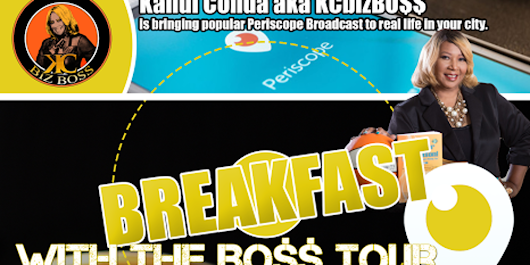BREAKFAST with The BOSS NATIONAL TOUR