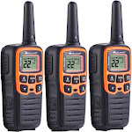 Midland - X-Talker 28-Mile, 22-Channel FRS/GMRS 2-Way Radios (3-Pack)