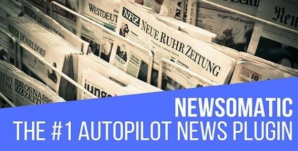 Newsomatic v3.0.5 - Automatic News Post Generator