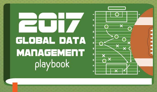 2017 Global Data Management Playbook [Infographic]