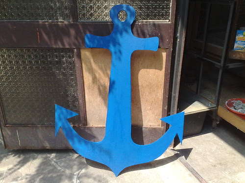 L'ancora blu mare by durishti