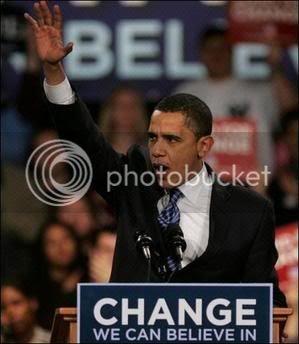 Change he said