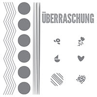 Tüpfelchen auf der Tüte Photopolymer Stamp Set (German) by Stampin' Up!