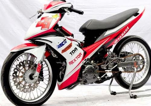 Itulah Beberapa Gambar Modifikasi Motor Yamaha Jupiter MX Yang Mungkin